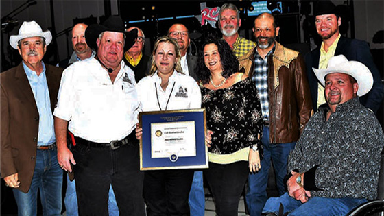 Friendswood Rotary - Paul Fellows Harris Award